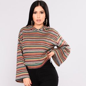 Striped For Success Top